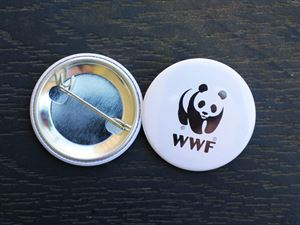 WWF Badge 2 stk.